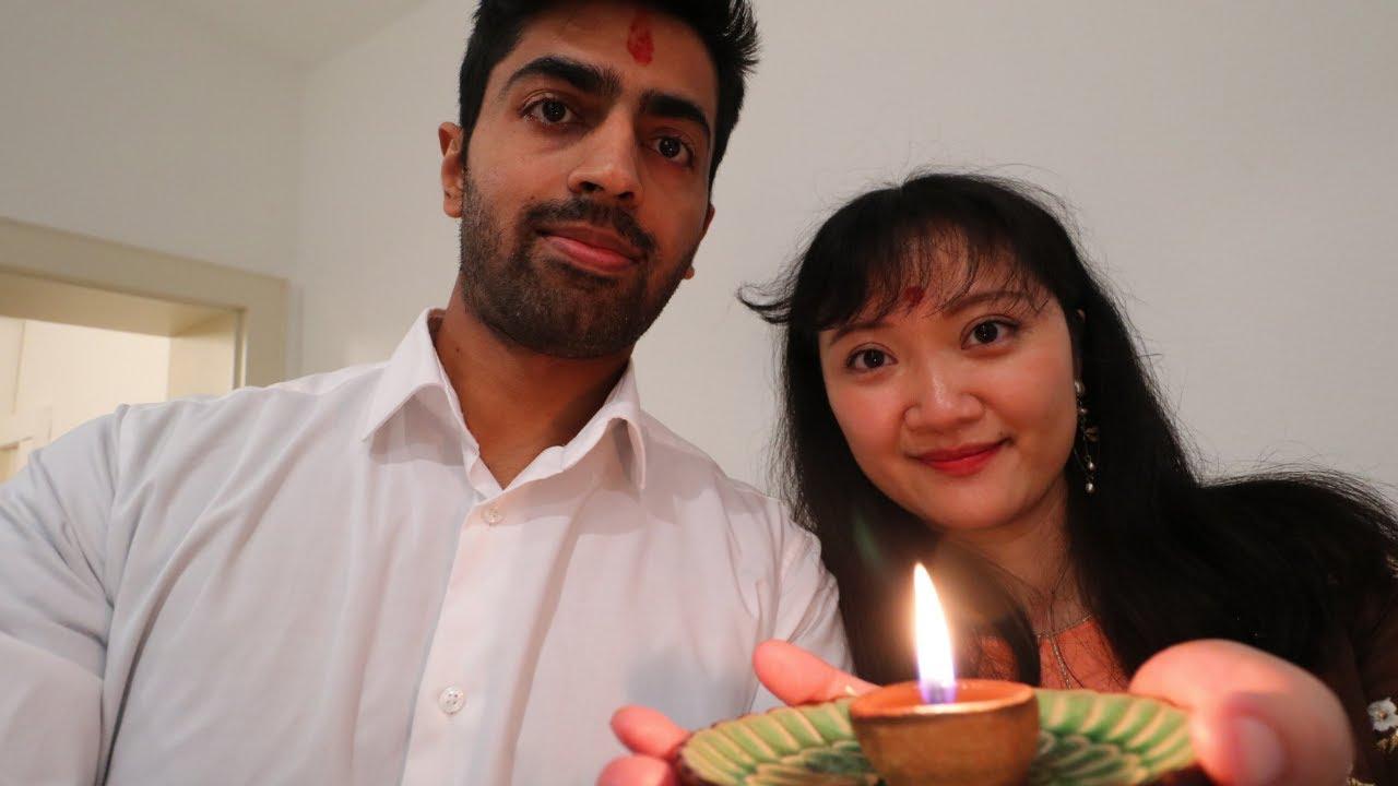 Hamari Happy Diwali - India China International Couple Diwali Celebrations