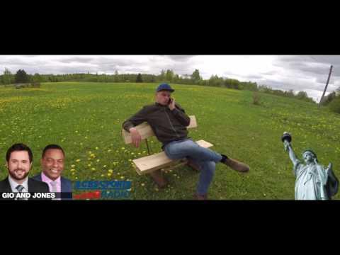 Transleiteris talks Porzingis on Gio And Jones – CBS Sports Radio show
