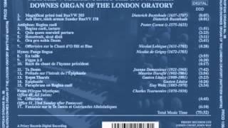 Buxtehude Magnificat primi toni (203) - Matthew Martin/London Oratory