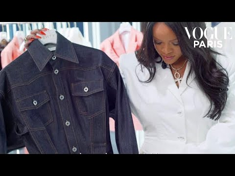 Randi West - Rihanna shows off her new clothing collection