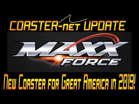 Maxx Force Roller Coaster Announced for Six Flags Great America in 2019 - COASTER-net Update