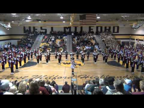 Clifton HS Mustang Marching Band at the WM Tattoo