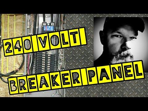 240 Volt Single Phase Breaker Panel Wiring Talk