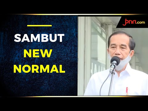 Sambut New Normal, Jokowi Tinjau Kesiapan MRT