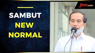 Sambut New Normal, Jokowi Tinjau Kesiapan MRT - JPNN.com