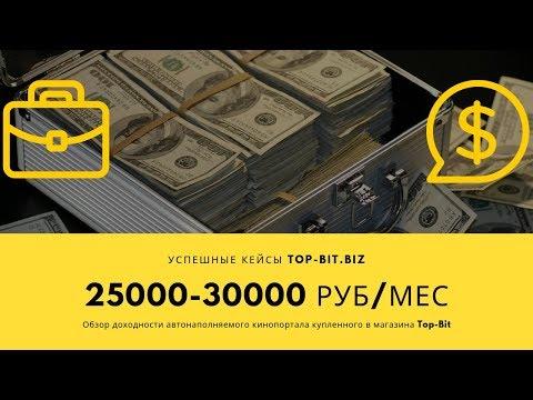 💲Доход 25000-30000 руб с сайта.  💼 Обзор успешного кейса💼 Top Bit Biz