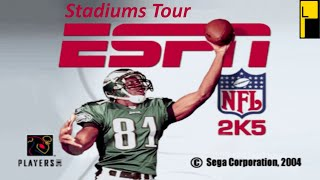 ESPN NFL 2K5 All Stadiums (4K60FPS)