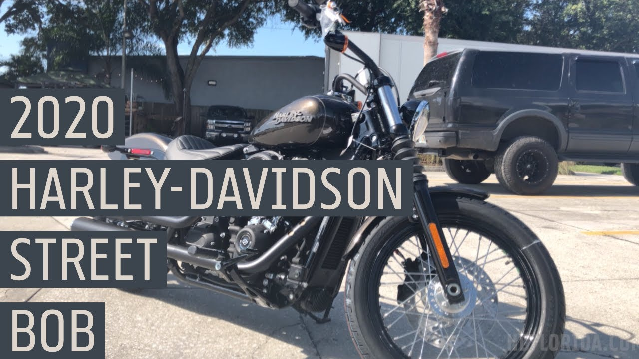 2020 Harley-Davidson Street Bob *New Color* River Rock Gray FIRST LOOK