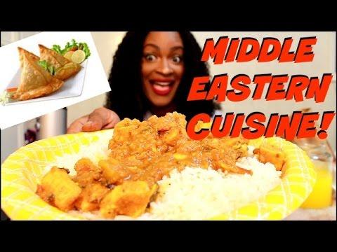 ASMR/MUKBANG: MIDDLE EASTERN CUISINE! EAT WITH ME! YUMMYBITESTV