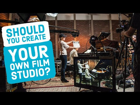 Is It Worth It To CREATE Your Own FILM STUDIO Or Should You Rent? (How To Build A Studio)