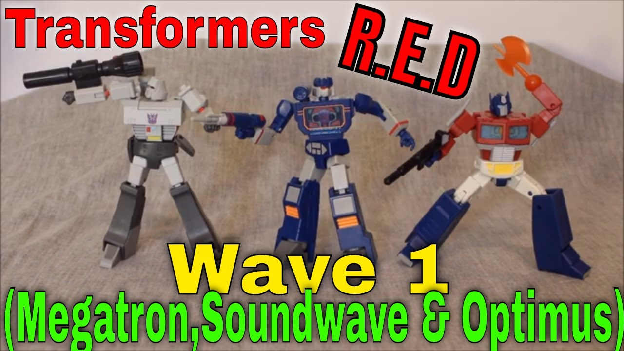 Seeing R.E.D.: Transformers Robot Enhanced Design Wave 1 Review By GotBot
