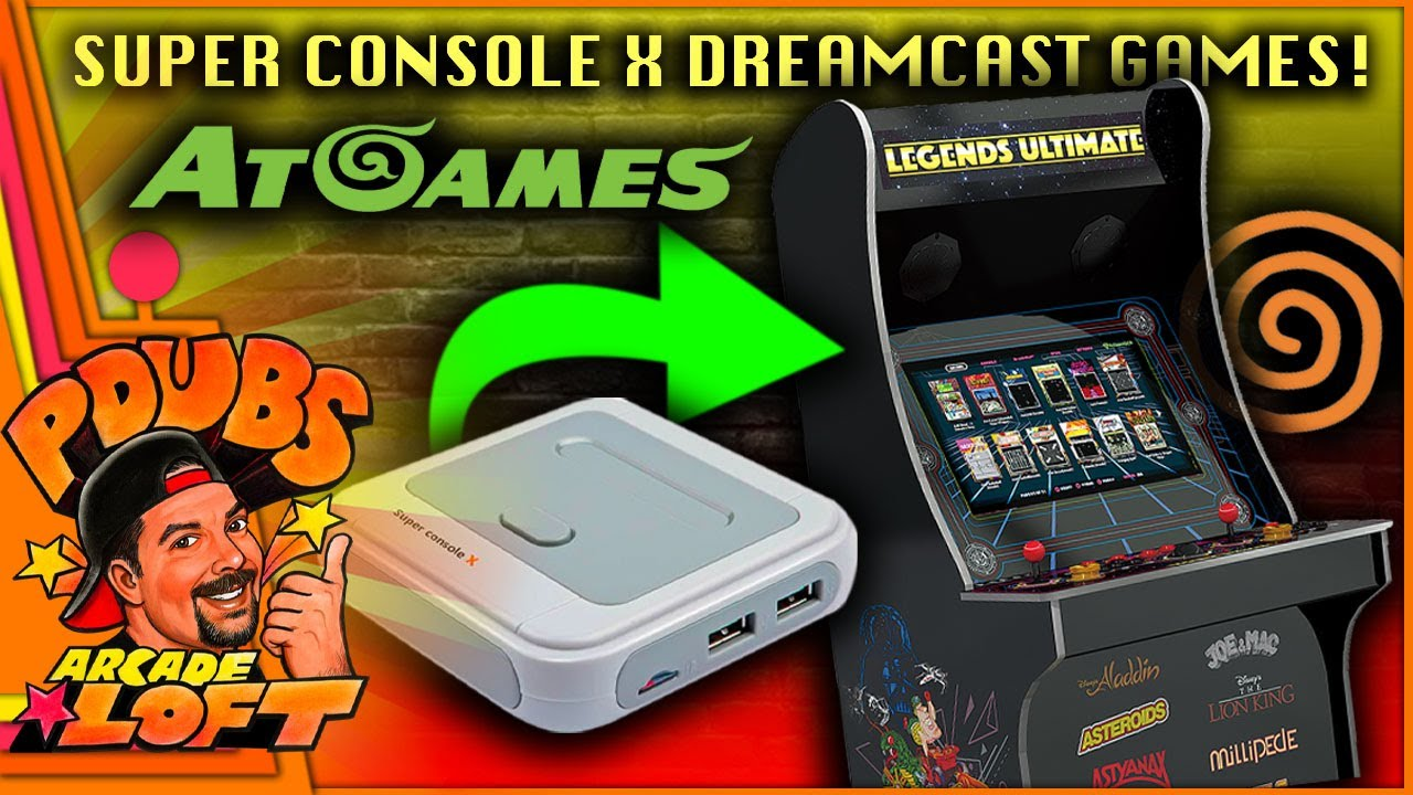 Coinopsx 4.5 Final edition 1653 Games!! It/'s the latest edition upgrade for Atgames legends ultimate gamer pro and Mini.