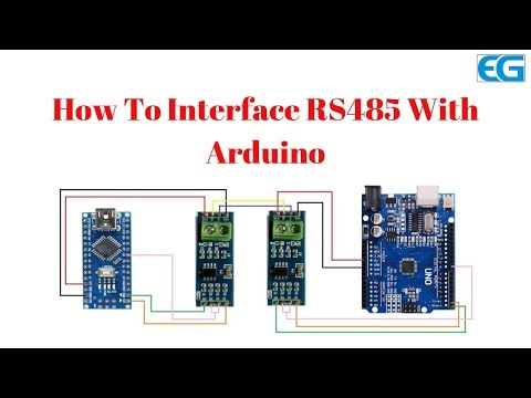 How To Interface RS485 With Arduino.