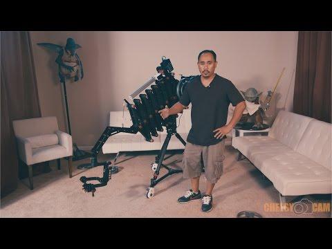 How To Setup CAME-TV Accordion Jib Telescoping Video Crane