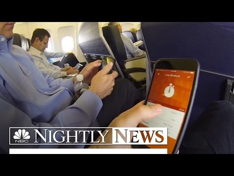 WiFi On Planes: Are You Safe From Hackers? | NBC Nightly News