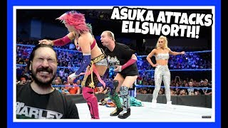 REACTION   James Ellsworth Attacked By Asuka!!! WWE Smackdown Live June 19, 2018