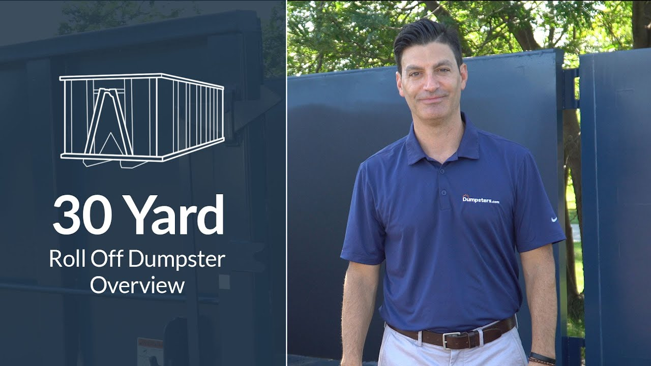 Download Should You Choose a 30 Yard Dumpster Rental? | Dumpsters.com