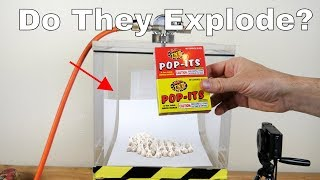 What Happens When You Put Pop-Its In a Vacuum Chamber? Explosions in Space Experiment