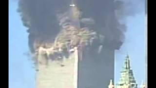 9/11 Close Up of N-E Corner Explosion (Squib) on WTC 2