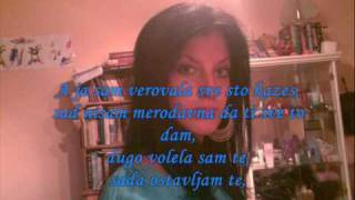Cvija ft Ana Masulovic Ostavljam te LYRICS.wmv