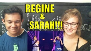 EXCLUSIVE | SARAH G. AND REGINE REUNITED REACTION