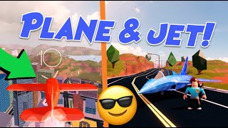 Jailbreak STUNT PLANE & FIGHTER JET Update! (Roblox Jailbreak New PLANES, Sky Rings, Smoke Trails)