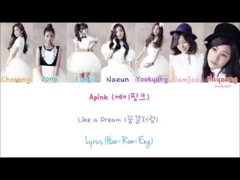 Apink (에이핑크) - Like a Dream (꿈결처럼) [Lyrics]