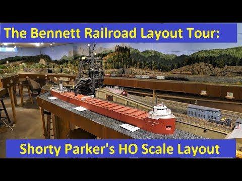 Layout Tour: Shorty Parker's HO Scale Layout