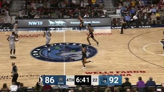 Justin Patton with one of the day's best dunks