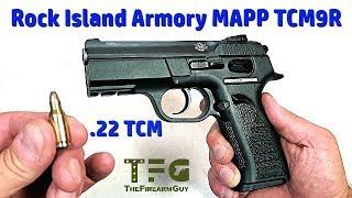Rock Island Armory MAPP .22TCM9R - TheFireArmGuy