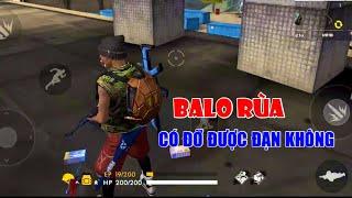 BALO RÙA, Balo đầu tiền có chức năng bảo vệ lưng, TOP 1 SOLO RANK | Garena Free Fire || Lão Gió