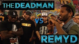 BOTZ2 - Rap Battle - RemyD vs The Deadman (Co-Hosted by AP9)