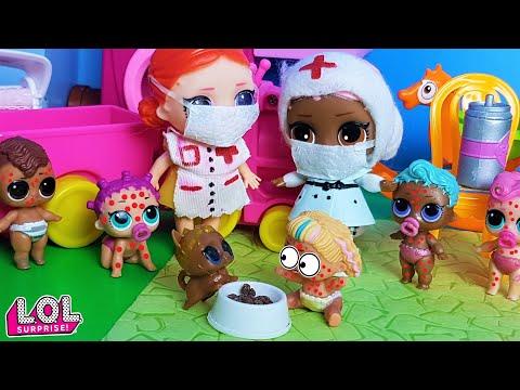 ДЕТСКИЙ САД НА КАРАНТИН!? #куклы #ЛОЛ сюрприз #Мультики lol surprise