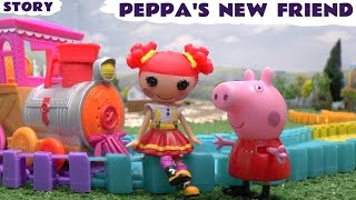 Peppa Pig Lalaloopsy Pocoyo Toy Thomas & Friends Kids Train Story Ember Flicker Flame Hello Kitty