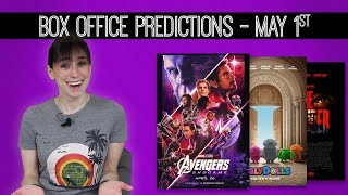 Avengers:  Endgame Weekend 2 Box Office Predictions