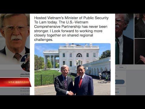 Truyền hình VOA 27/4/19: Tướng Tô Lâm: Mỹ là một trong những đối tác quan trọng nhất
