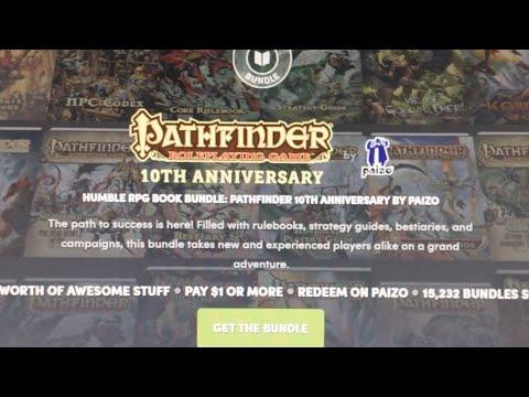 Humble RPG Book Bundle: Pathfinder 10th Anniversary
