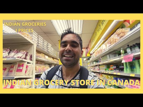 INDIAN GROCERY STORE IN CANADA | WHAT INDIAN GROCERIES ARE AVAILABLE || FRUITICANA IN VANCOUVER