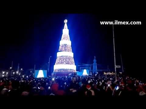 (Live Show) | Digital Christmas Tree - ILMEX Illumination El Salvador