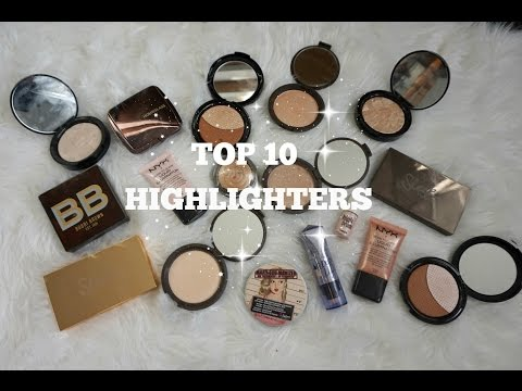 TOP 10 HIGHLIGHTERS I CARLYBREEBEAUTY