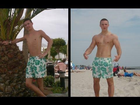 1 Jahr Muskelaufbau (Natural Body Transformation)