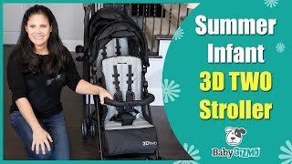 Summer Infant 3D TWO Double Stroller | Best Strollers