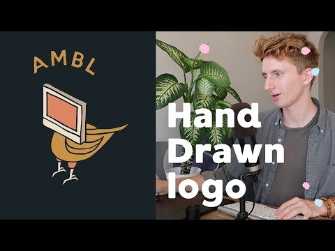 How To Create a Hand Drawn Logo Effect