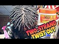 4C NATURAL HAIR TWO- STRAND TWIST|tutorial