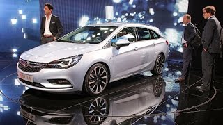Opel Astra Is Touted At Frankfurt Show
