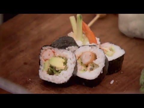 How To Make Sushi - Rude Boy Food - BBC