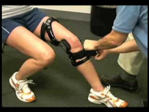 4656834ecc DonJoy Knee Brace Fitting Video - YouTube