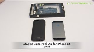 mophie juice pack air for iPhone 5S / 5 - Review