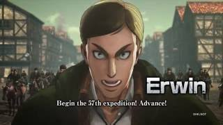 Attack on Titan - Erwin Character Highlight
