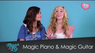 "Magic Piano and Magic Guitar App featuring ""Princess Charming"""